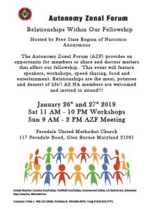 Autonomy Zonal Forum