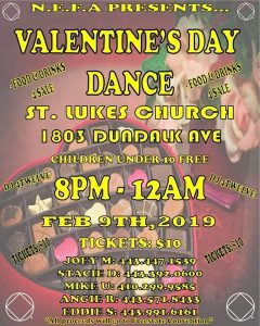 Northeast Freedome Area Valentines Dance @ St. Lukes Church | Baltimore | Maryland | United States