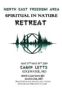 North East Freedom Area Spiritual Retreat @ Camp Letts | Edgewater | Maryland | United States