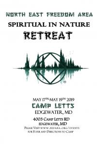 North East Freedom Area Spiritual Retreat @ Camp Letts | Edgewater | Maryland | United States