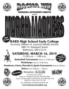 MARCH MADNESS @ BARD HIGH SCHOOL (Old Lemmel Middle) | Baltimore | Maryland | United States