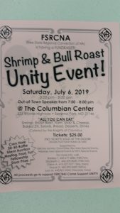 Shrimp & Bull Roast Unity Event @ The Columbian Center | Severna Park | Maryland | United States