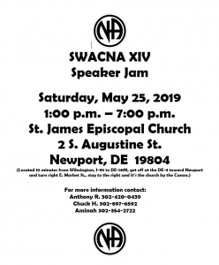 SWACNC XIV SPEAKER JAM @ St EPISCOPAL CHURCH | Newport | Delaware | United States