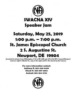 SWACNC XIV SPEAKER JAM @ St EPISCOPAL CHURCH | Newport | Delaware | United States