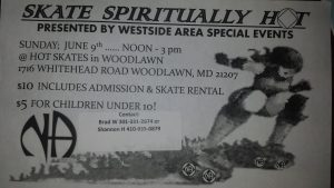 Skate SpiritualityHot @ Hot Skates | Woodlawn | Maryland | United States