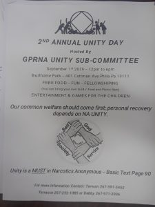 Greater Philadelphia Region Unity Day (2nd Annual) @ Burlhome Park | Pennsylvania | United States