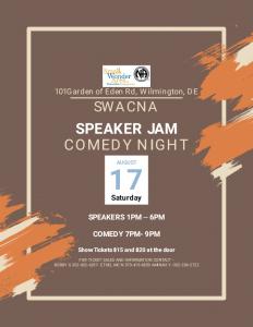 SWACNA Comedy Night and Speaker Jam @ Siegel JCC Delaware | Wilmington | Delaware | United States
