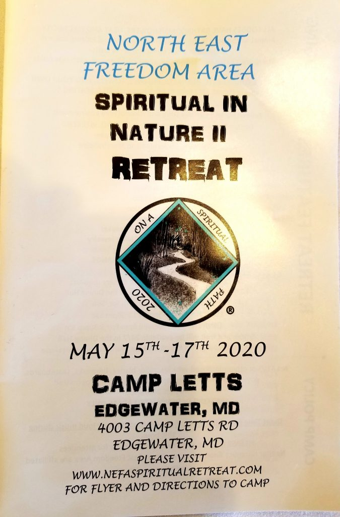 NEFA Spiritual Retreat 2020
