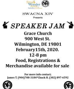 SWACNA Speaker Jam @ Grace Church