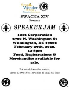 SWACNA XIV Speaker Jam @ 1212 Corporation