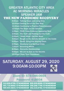The New Pandemic Recovery @ Zoom meeting ID# 5740460654  Password ID# 418934 |  |  |