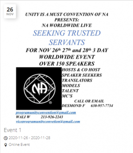 Unity is a Must Convention of NA @ Crown Plaza North-Worthington | Columbus | Ohio | United States