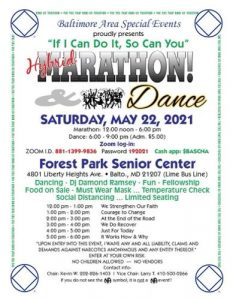 """If I Can Do It, So Can You"" Hybrid Marathon & Dance @ Forest Park Senior Center 