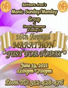 Baltimore Area's Manic Sunday/Manic Monday 16th ANNUAL MARATHON