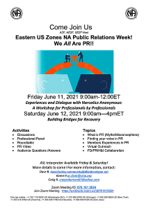 Eastern US Zones NA Public Relations Week