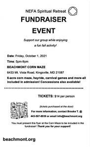 NEFA SPIRTUAL RETREAT @ Kingsville | Maryland | United States